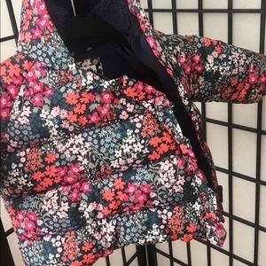baby gap flower coat
